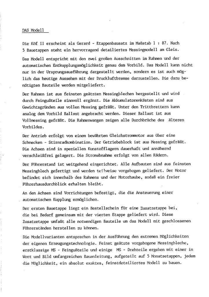 Bauanleitung Gerard Köf II 1/87 – Seite 7