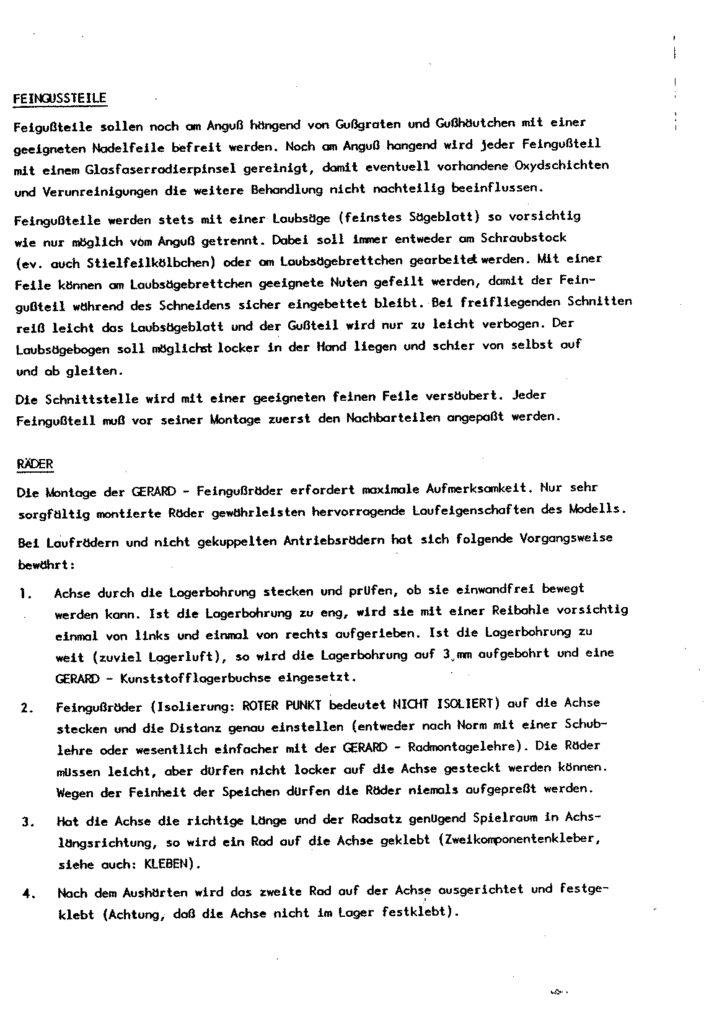 Bauanleitung Gerard Köf II 1/87 – Seite 18
