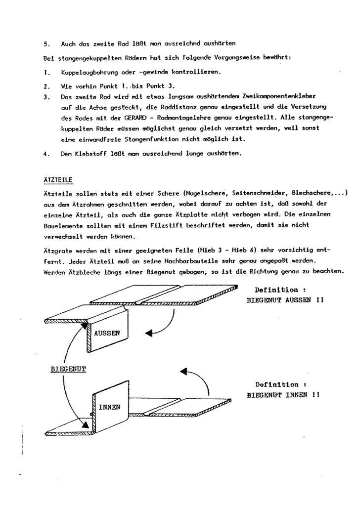 Bauanleitung Gerard Köf II 1/87 – Seite 19