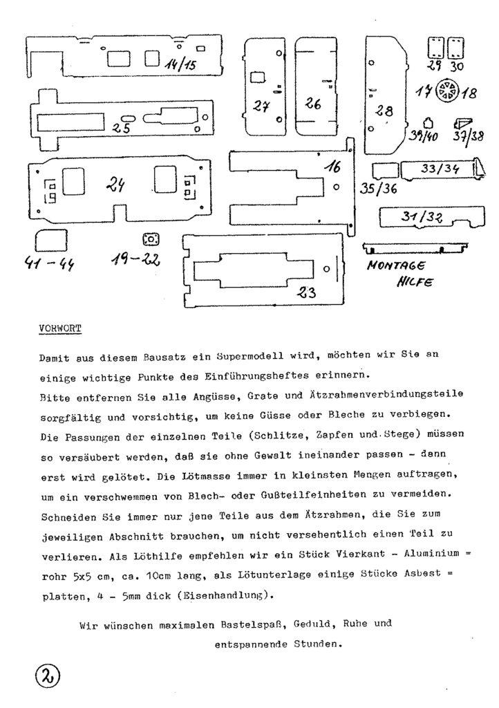 Bauanleitung Gerard Köf II 1/87 – Seite 22