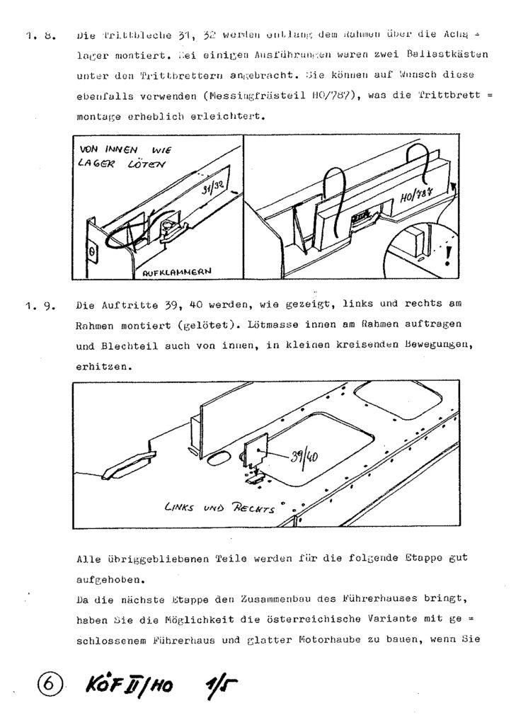 Bauanleitung Gerard Köf II 1/87 – Seite 26