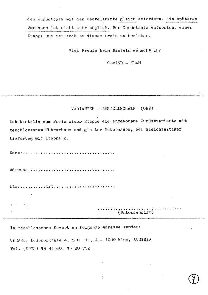Bauanleitung Gerard Köf II 1/87 – Seite 27