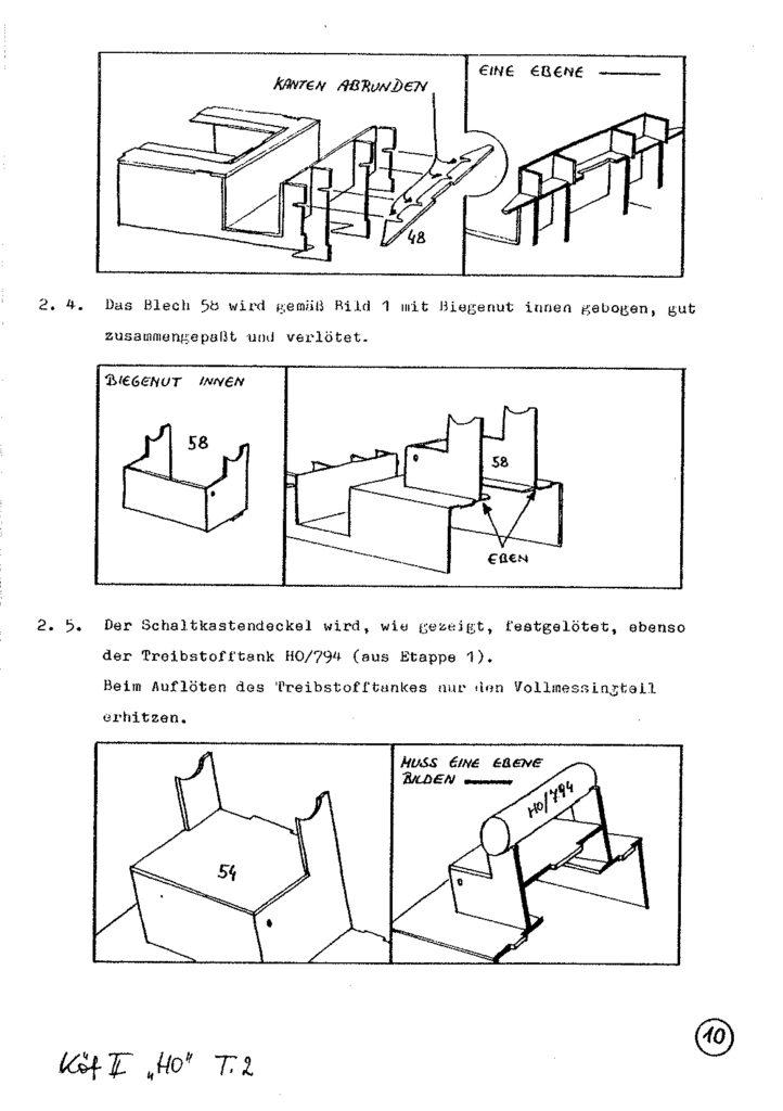 Bauanleitung Gerard Köf II 1/87 – Seite 30