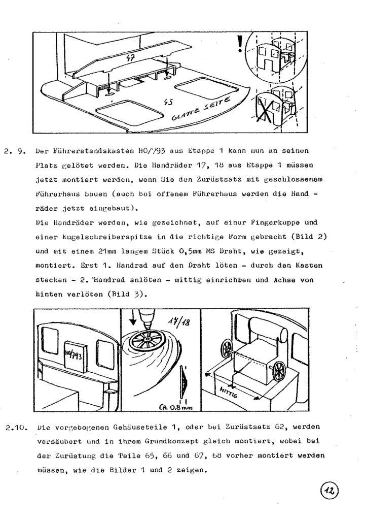 Bauanleitung Gerard Köf II 1/87 – Seite 32