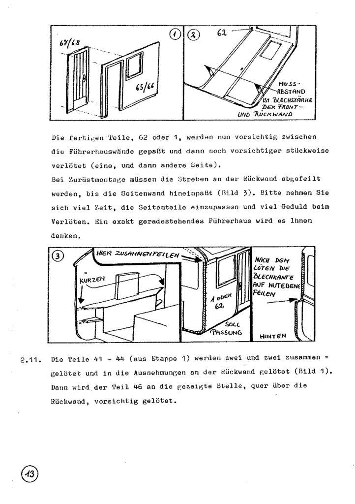 Bauanleitung Gerard Köf II 1/87 – Seite 33