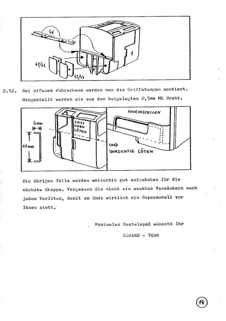Bauanleitung Gerard Köf II 1/87 – Seite 34