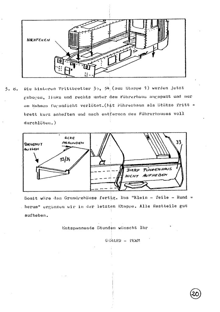 Bauanleitung Gerard Köf II 1/87 – Seite 40