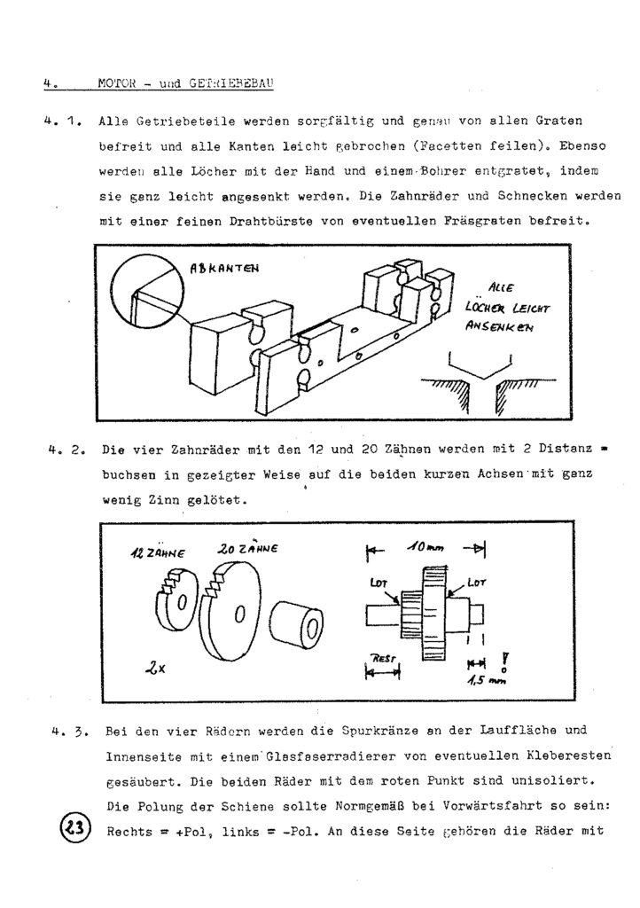 Bauanleitung Gerard Köf II 1/87 – Seite 43
