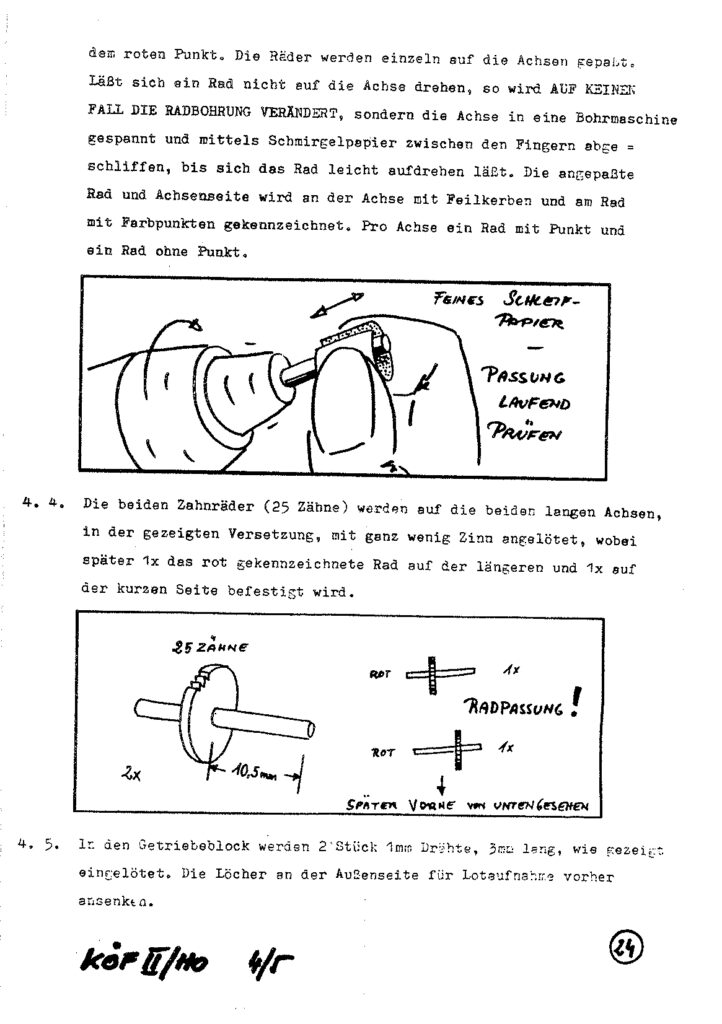 Bauanleitung Gerard Köf II 1/87 – Seite 44