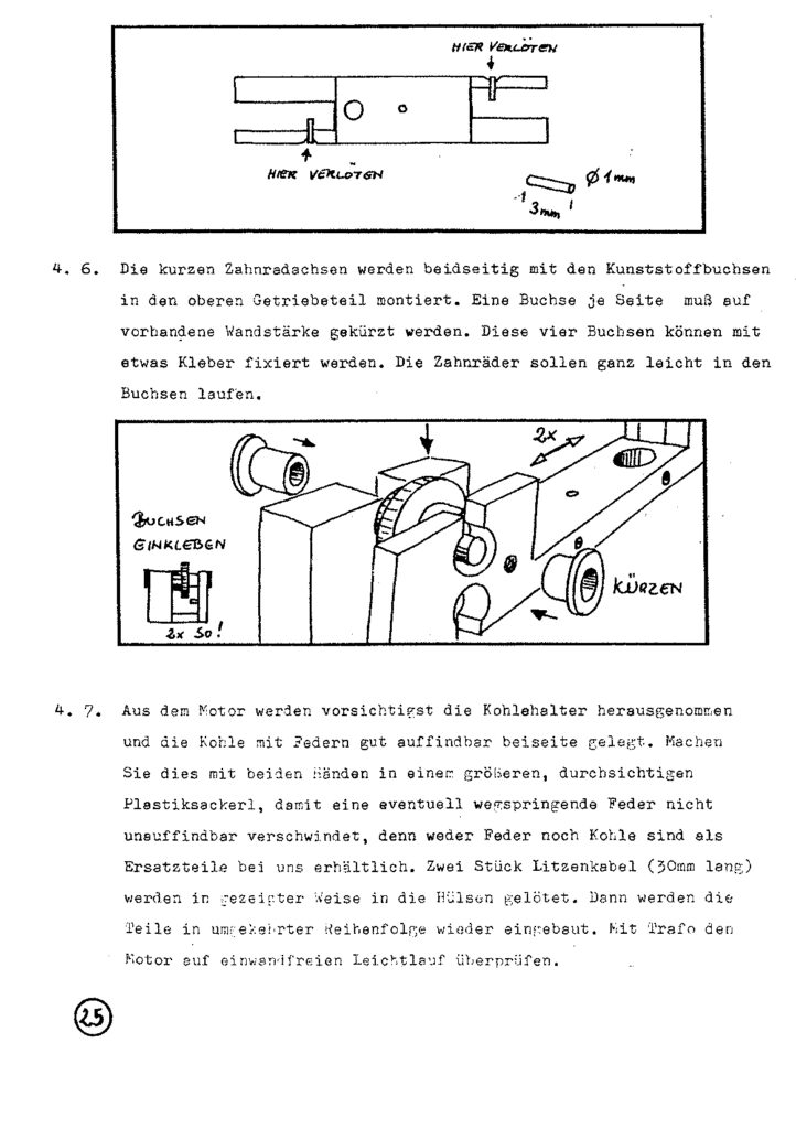 Bauanleitung Gerard Köf II 1/87 – Seite 45