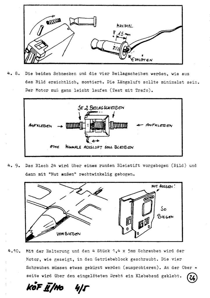 Bauanleitung Gerard Köf II 1/87 – Seite 46