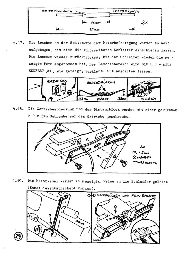 Bauanleitung Gerard Köf II 1/87 – Seite 49