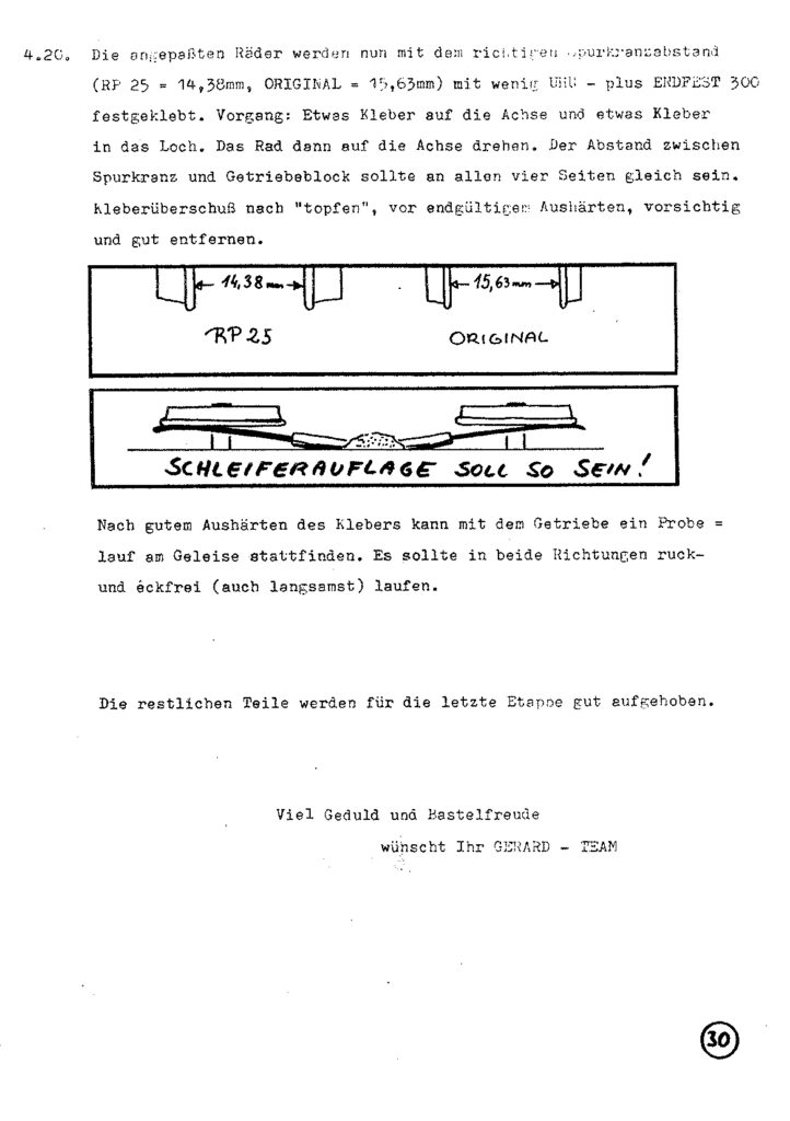 Bauanleitung Gerard Köf II 1/87 – Seite 50