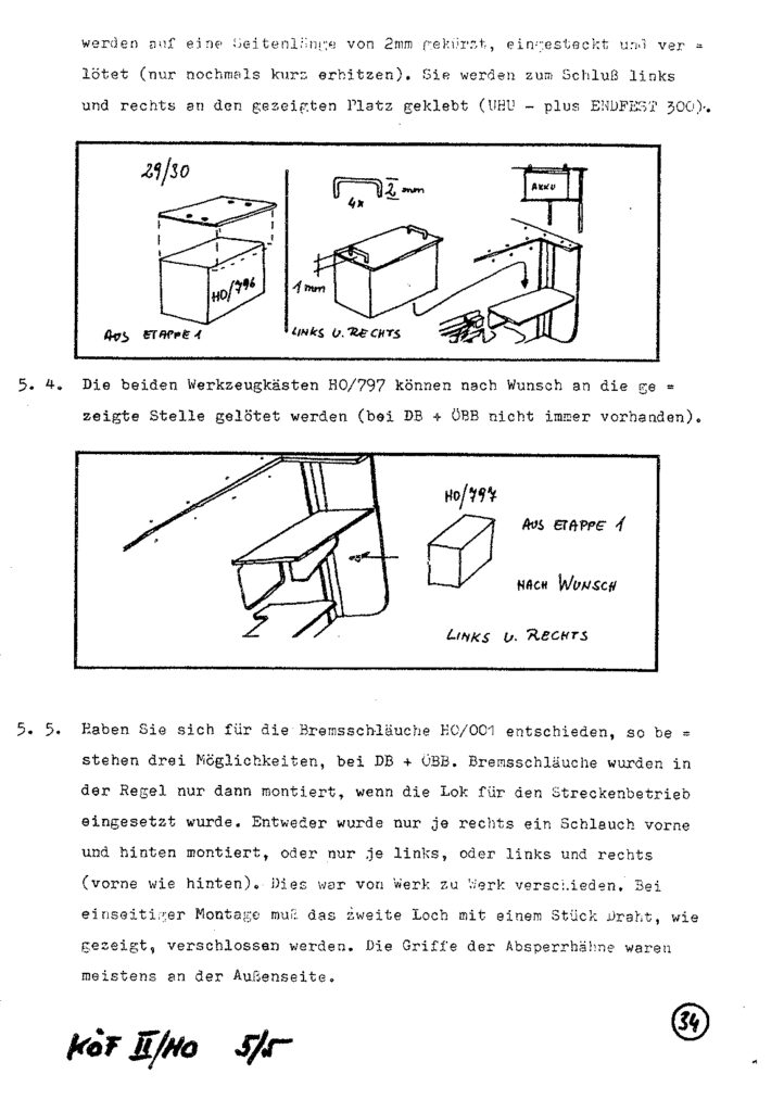 Bauanleitung Gerard Köf II 1/87 – Seite 54