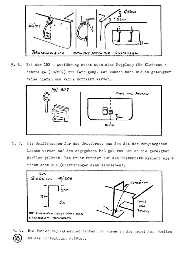 Bauanleitung Gerard Köf II 1/87 – Seite 55