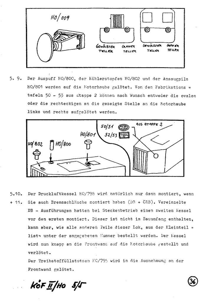 Bauanleitung Gerard Köf II 1/87 – Seite 56