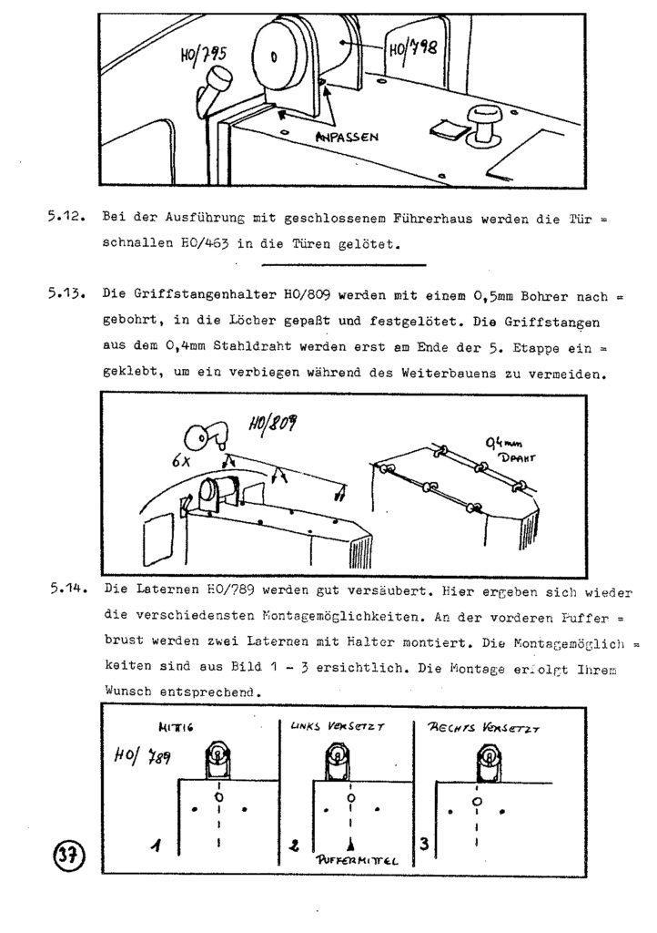 Bauanleitung Gerard Köf II 1/87 – Seite 57