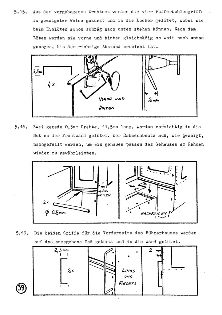 Bauanleitung Gerard Köf II 1/87 – Seite 59