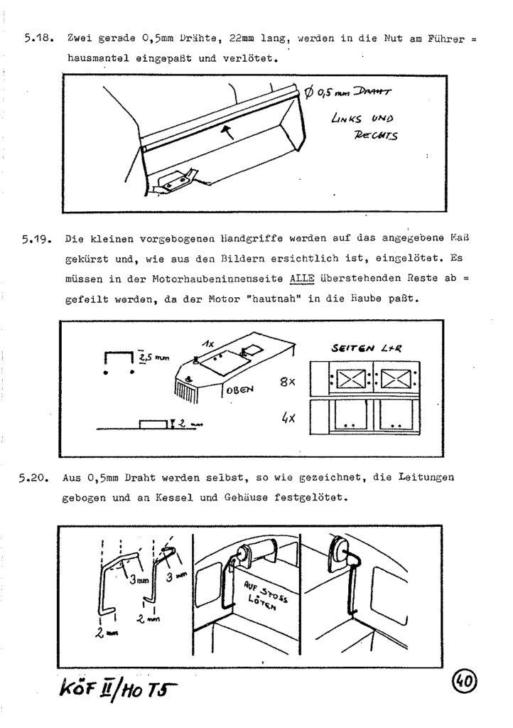 Bauanleitung Gerard Köf II 1/87 – Seite 60