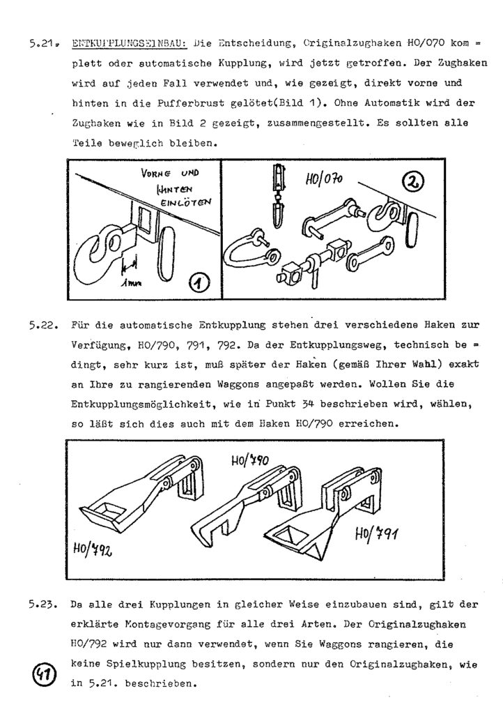 Bauanleitung Gerard Köf II 1/87 – Seite 61
