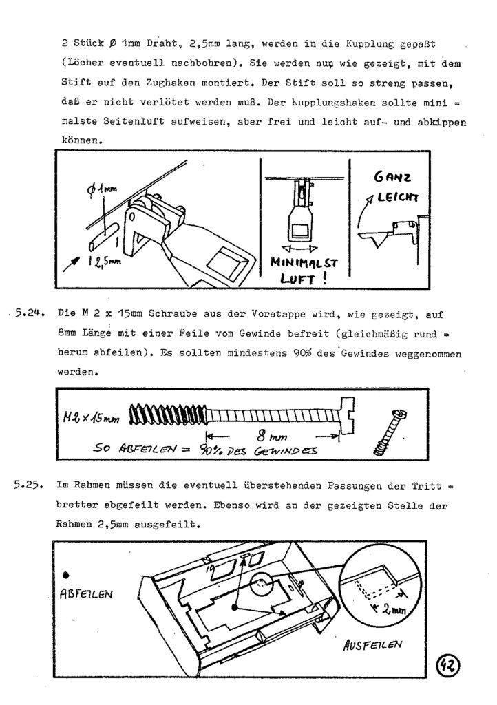 Bauanleitung Gerard Köf II 1/87 – Seite 62