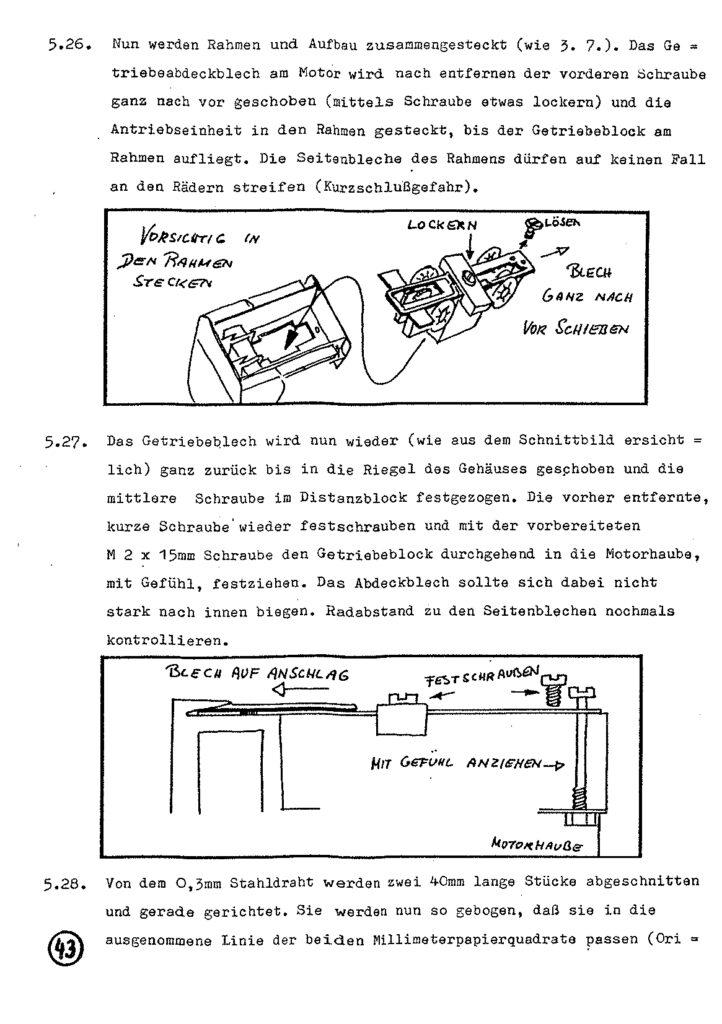 Bauanleitung Gerard Köf II 1/87 – Seite 63