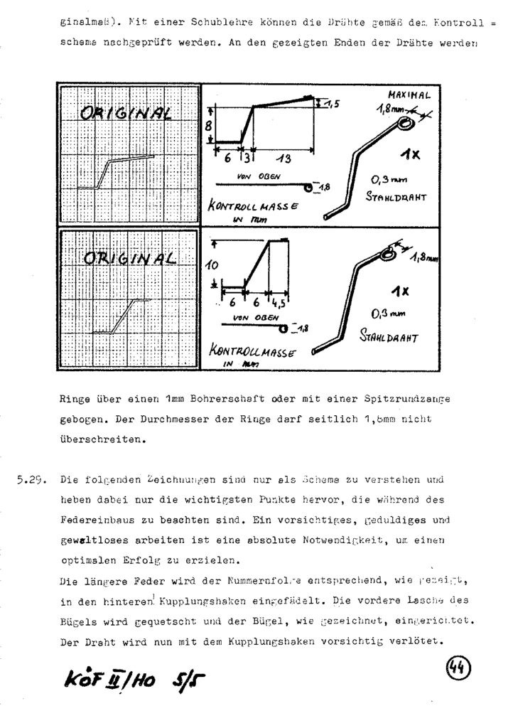 Bauanleitung Gerard Köf II 1/87 – Seite 64