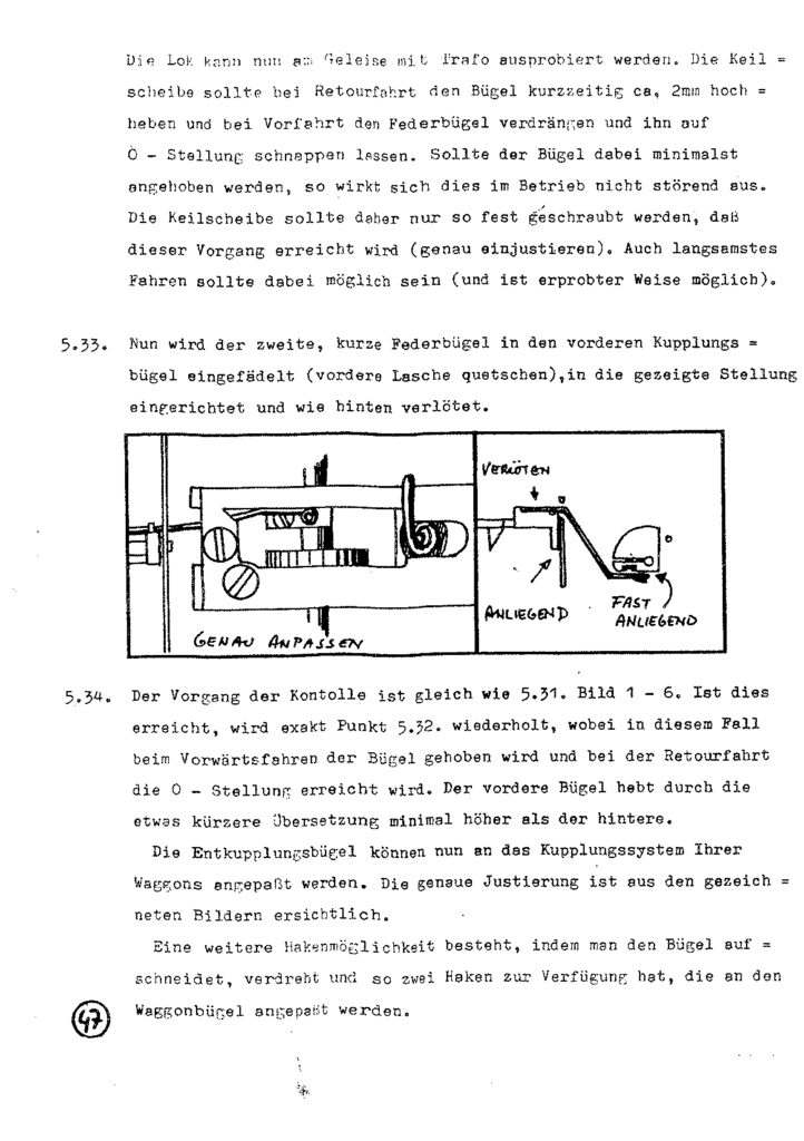 Bauanleitung Gerard Köf II 1/87 – Seite 67