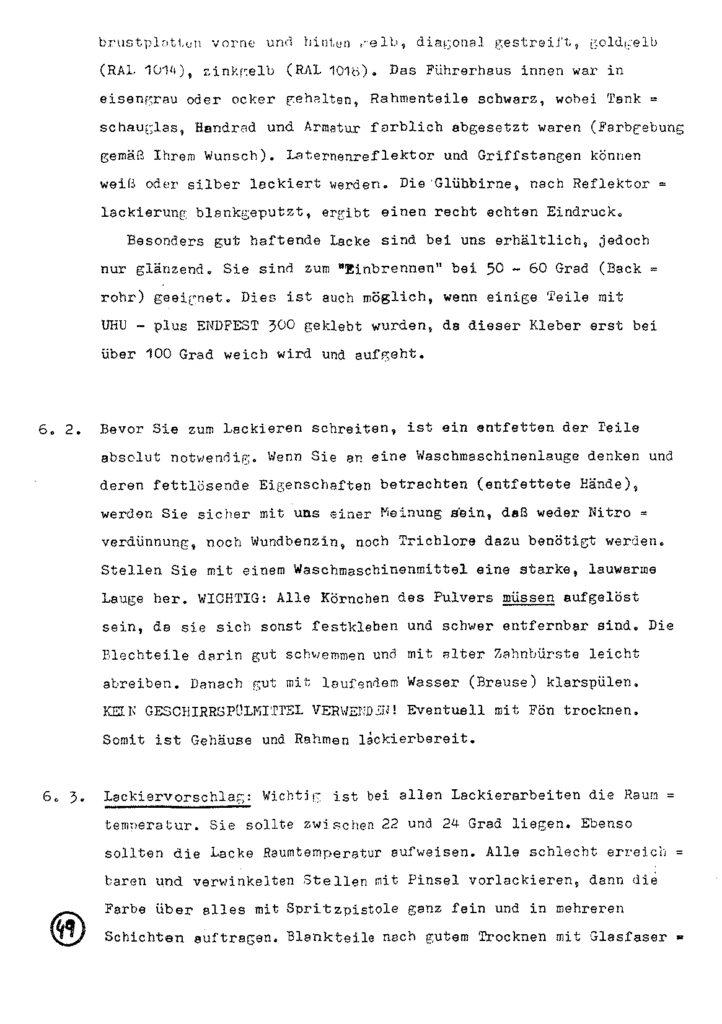 Bauanleitung Gerard Köf II 1/87 – Seite 69
