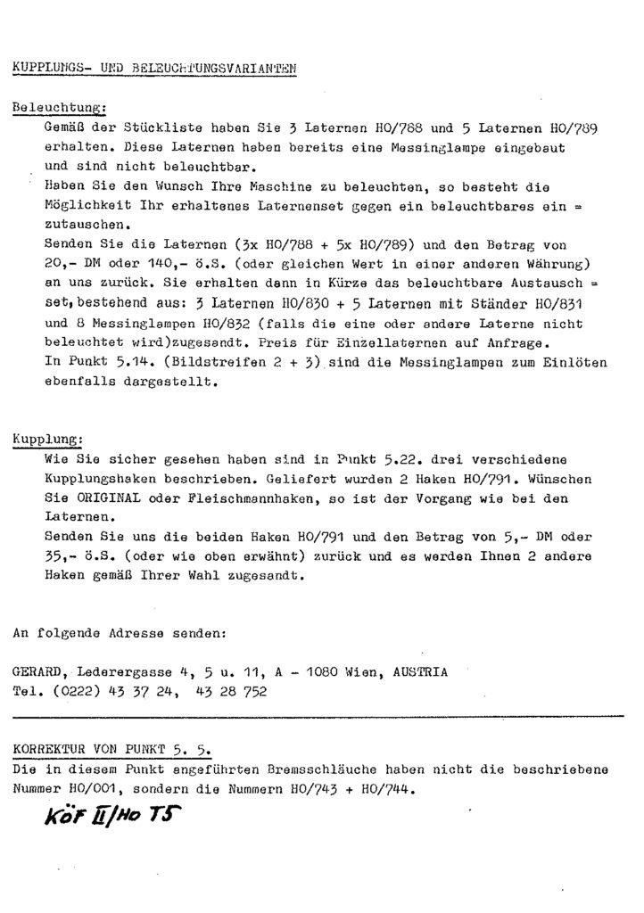 Bauanleitung Gerard Köf II 1/87 – Seite 71