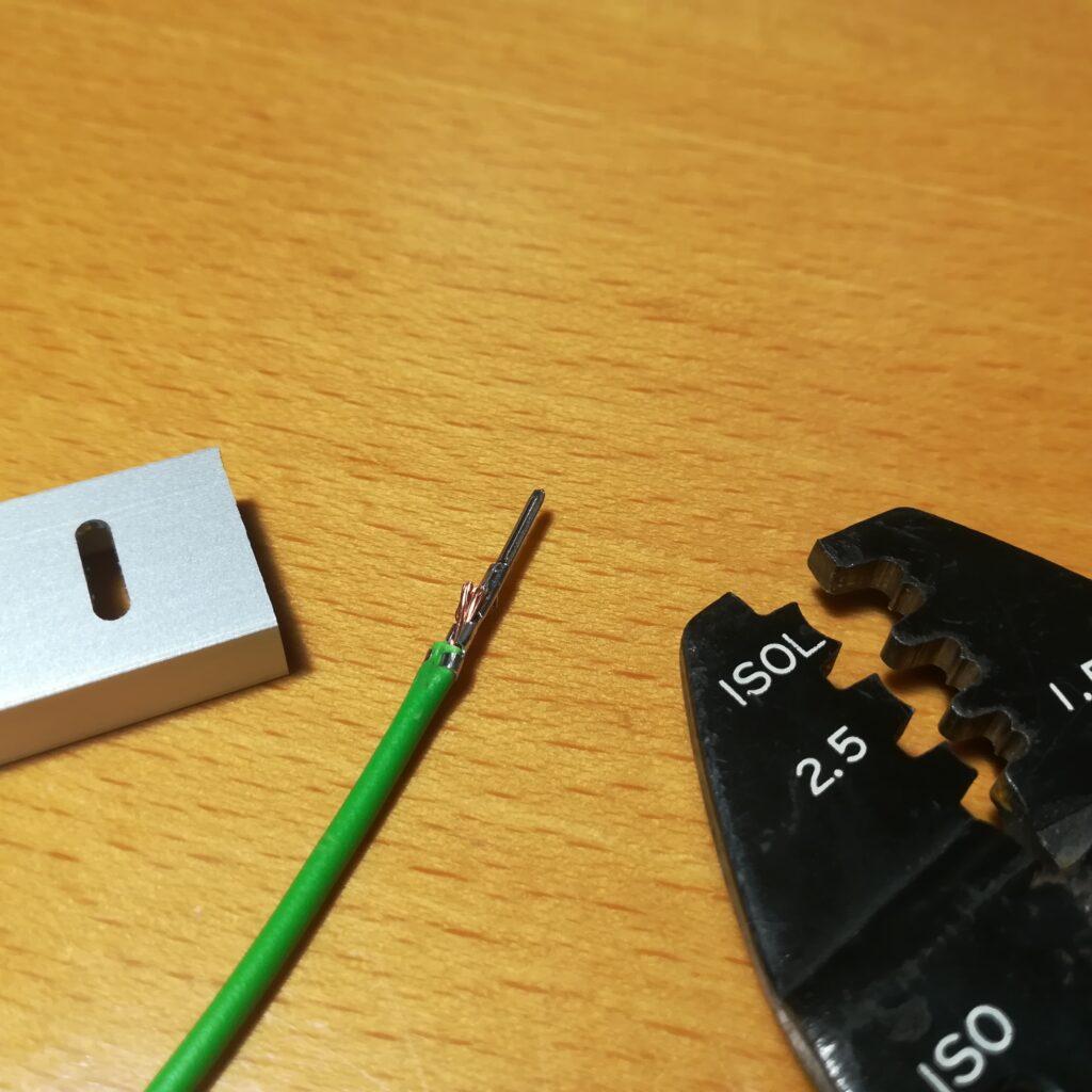 Kabel für die Modul-Beleuchtung