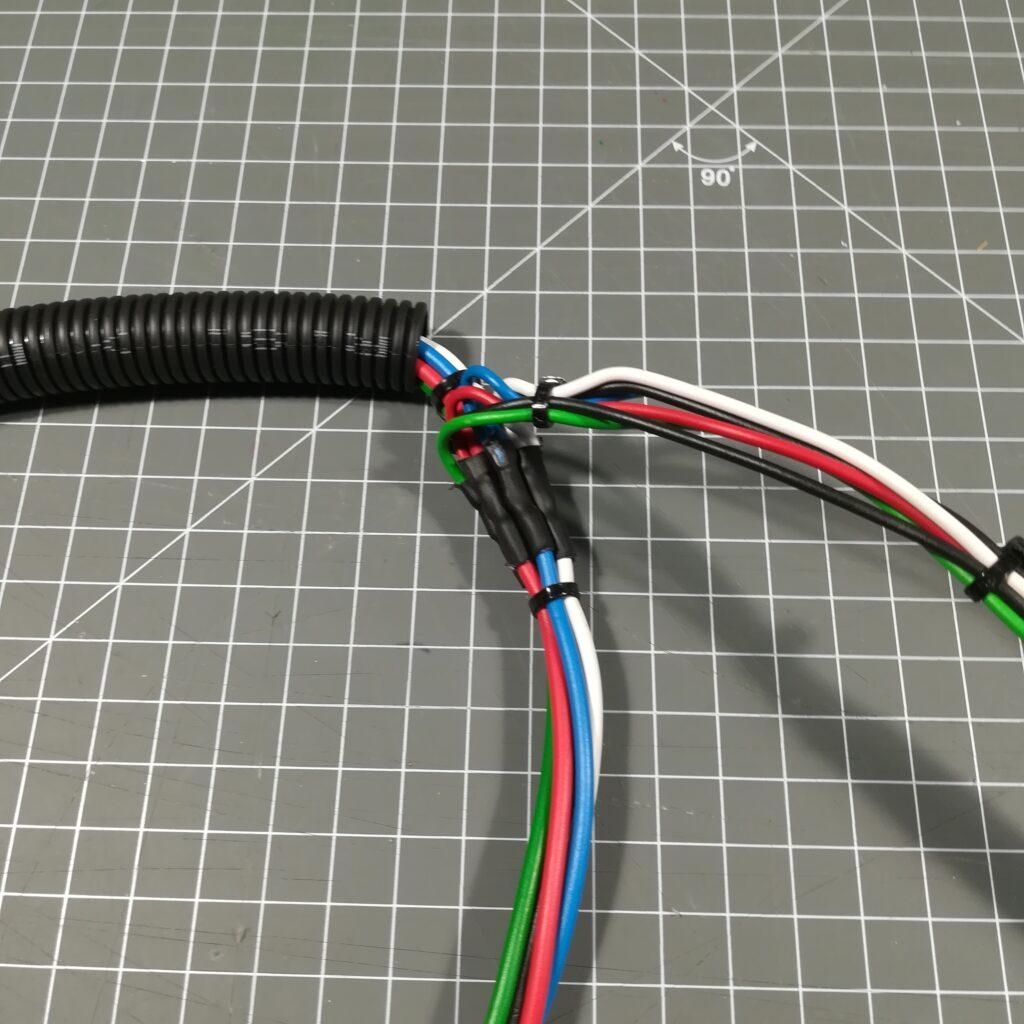 Kabelbaum für die LED-Stripes