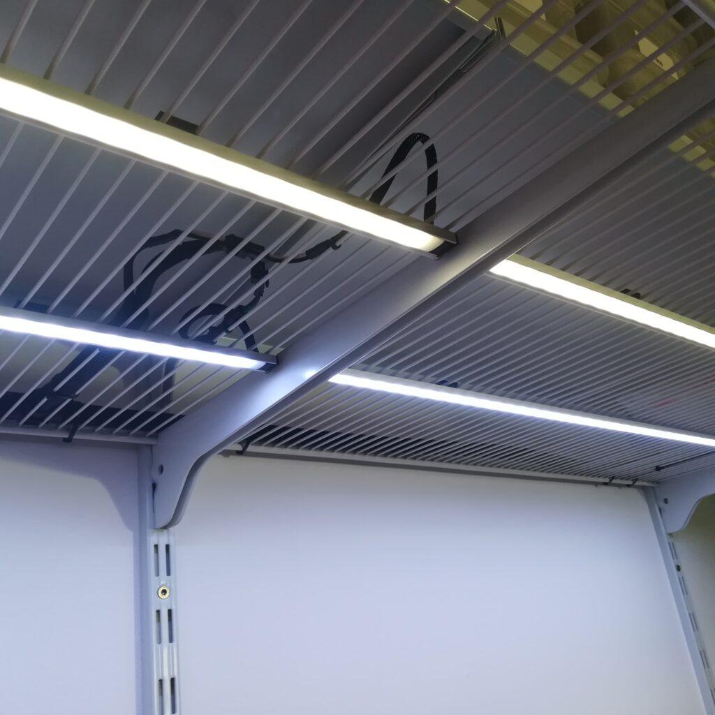 Funktionstest der LED-Stripes